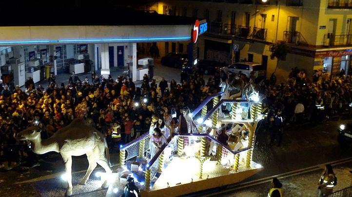 Cabalgata de Reyes de Tetuán.