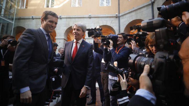 Casado y Garrido en una imagen del pasado mes de diciembre.