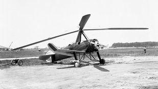 El precursor del helicóptero despliega sus alas en Getafe