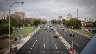 La M-505, como la A-5: Podemos pide convertirla en una vía urbana