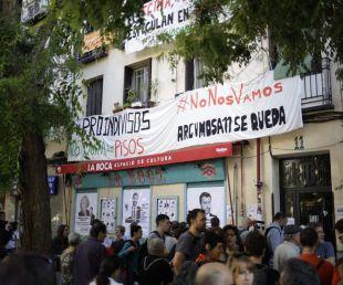 Suspendido hasta febrero el desalojo de una mujer en la calle Argumosa