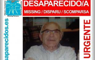 Desaparecido desde el lunes un anciano en Alcobendas