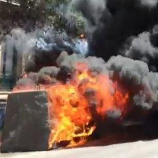 Detenido el presunto autor de la quema de 71 contenedores en Humanes