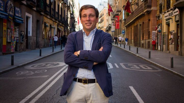 José Luis Martínez-Almeida, portavoz del Grupo Municipal Popular en el Ayuntamiento de Madrid.