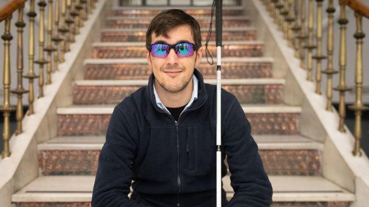 Alejandro de Miguel, subcampeón del mundo de golf para invidentes.