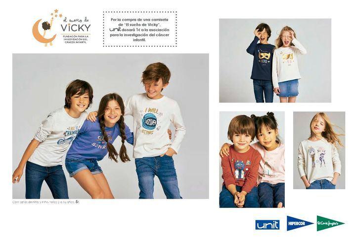 El Corte Inglés dona 29.161 euros a El Sueño de Vicky para la investigación del cáncer infantil