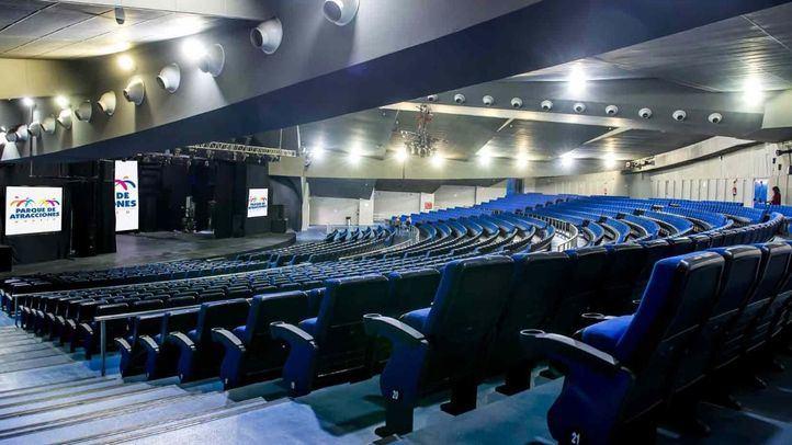 El renovado auditorio tendrá capacidad de 1.862 butacas y contará con un avanzado equipamiento técnico y audiovisual