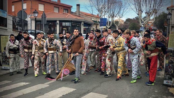 Fiesta de la Vaquilla en Fresnedillas de la Oliva