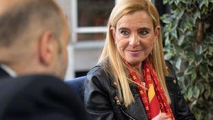 Entrevista en la Terraza de Gran Vía a la alcaldesa de Collado Villalba, Mariola Vargas.