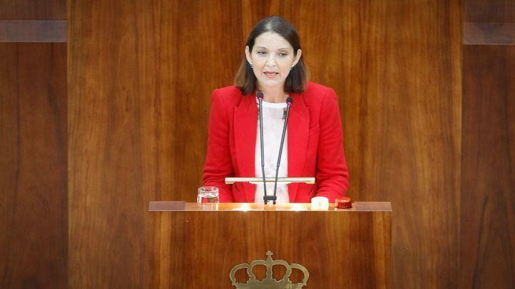 Reyes Maroto, exdiputada regional de PSOE de Madrid en la Asamblea de Madrid y actual ministra de Industria.
