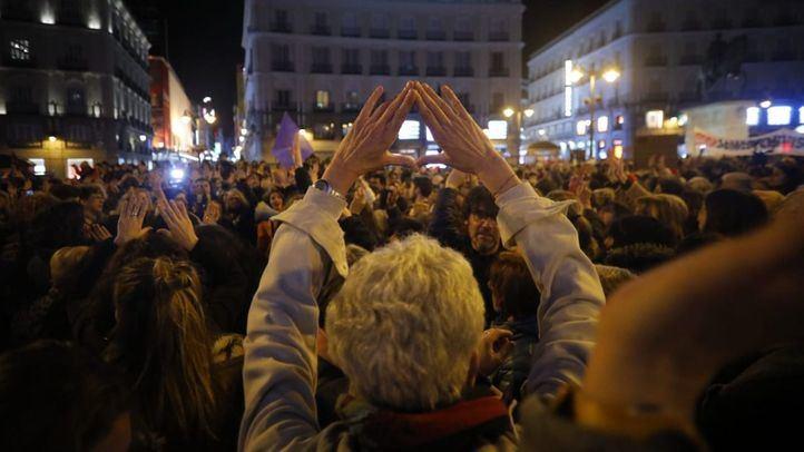 Concentración feminista ¡Ni un paso atrás en igualdad!.