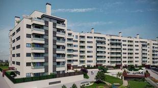Promoción de viviendas en Rivas