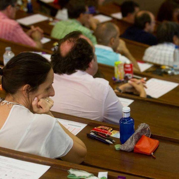 Oposiciones a sanidad en la universidad complutense.