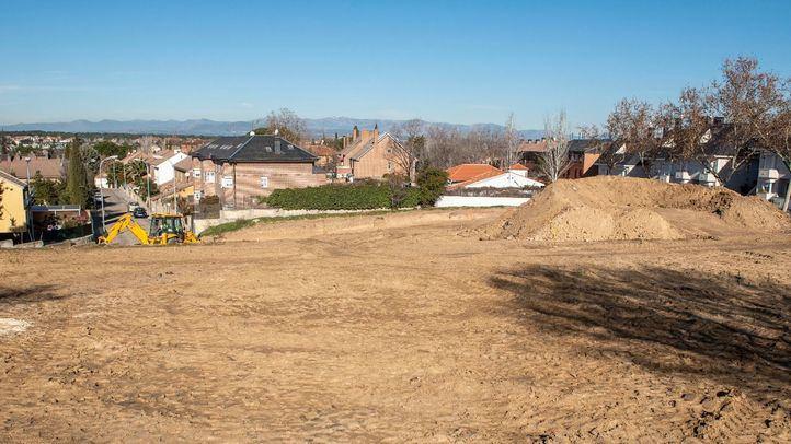 Un arroyo artificial y un área infantil para el parque Ramón y Cajal de Pozuelo