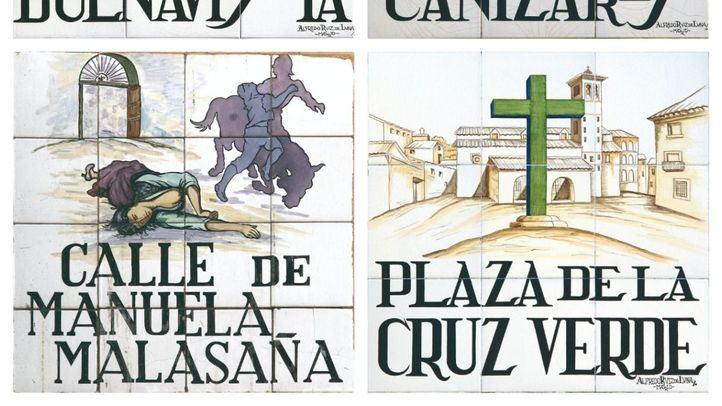 La historia que esconden las placas de las calles de Madrid