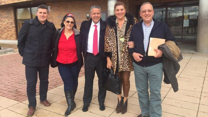 Concejales del PP de Valdemorillo que pasan a no adscritos.