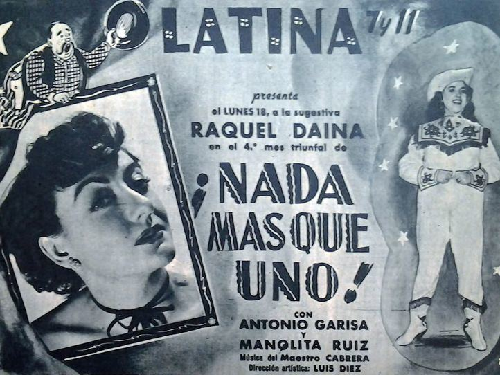 Cartel Teatro La Latina