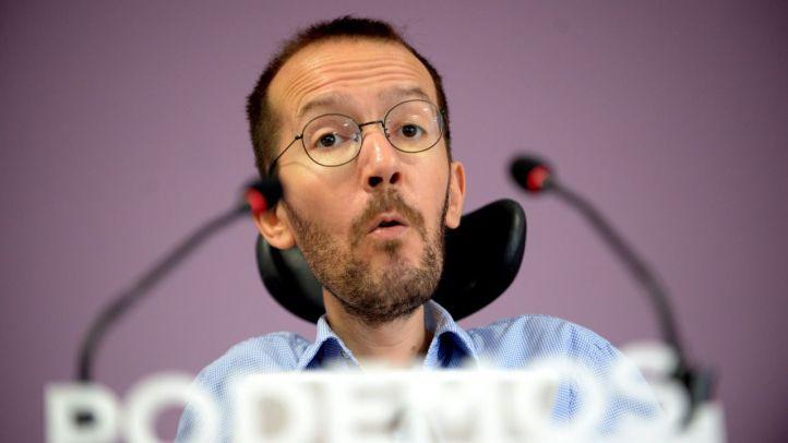 Pablo Echenique, en una rueda de prensa.