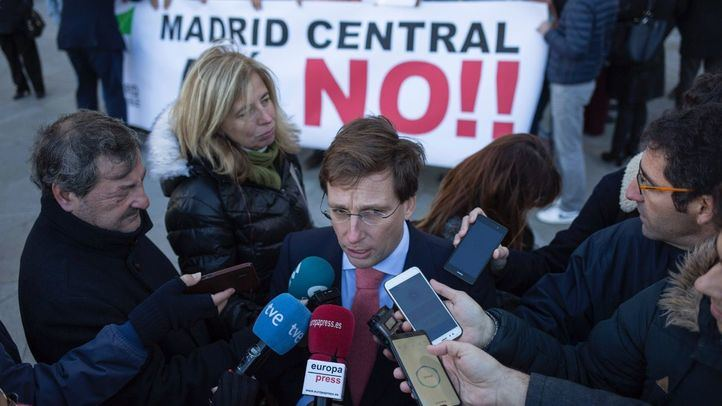 El PP insiste en revertir Madrid Central pero no el protocolo anticontaminación