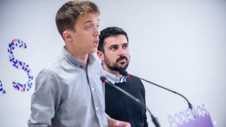 Íñigo Errejón y Ramón Espinar.
