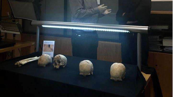 Los 94 cadáveres medievales de Atocha, en el Arqueológico