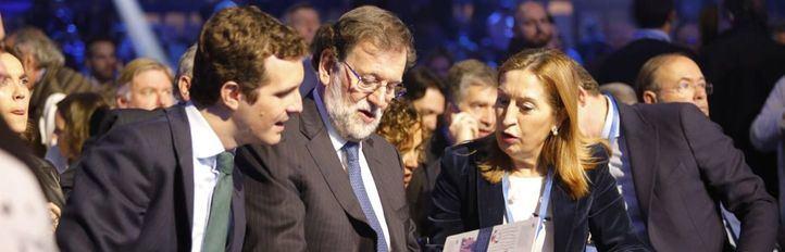 Rajoy reaparece para impulsar el inicio de la campaña electoral