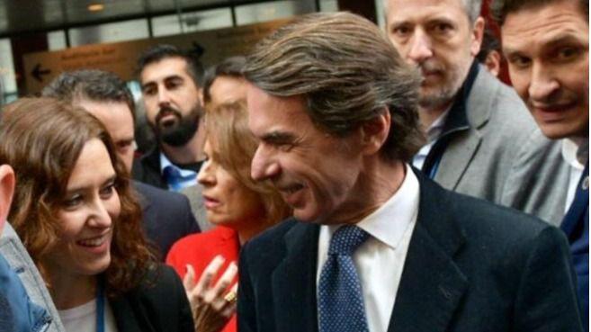 José María Aznar, expresidente.