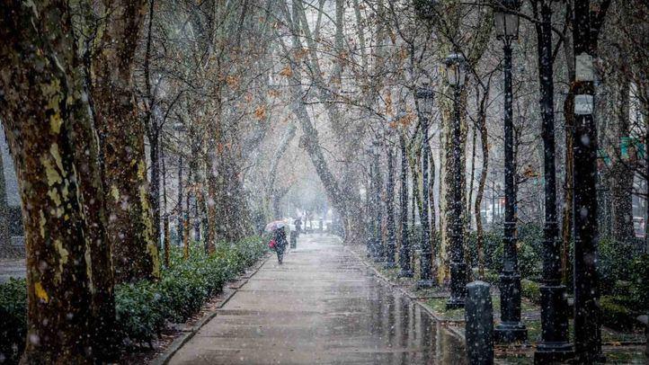 Este fin de semana ha llegado a Madrid la ola de frío.