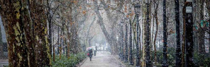 Una ola de frío se instala esta semana en Madrid