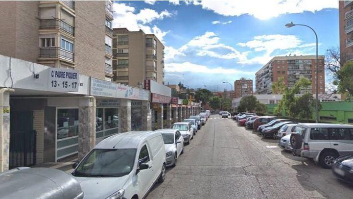 Calle Padre Piquer, 13, en Aluche.