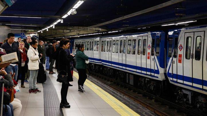 Suspendido el servicio de la L6 de Metro