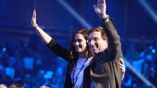 Isabel Díaz Ayuso y José Luis Martínez-Almeida.