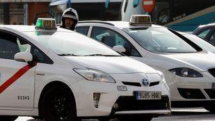Taxis, en una foto de archivo.