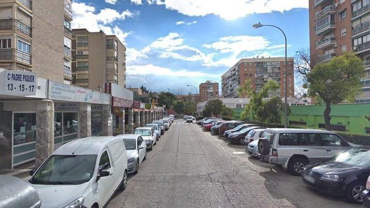 Calle Padre Piquer, lugar de los hechos.