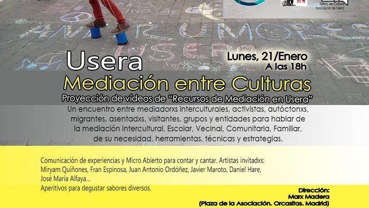 Mediación entre culturas, este lunes en Usera