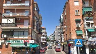 Calle Eduardo Morales, donde se produjeron los hechos.