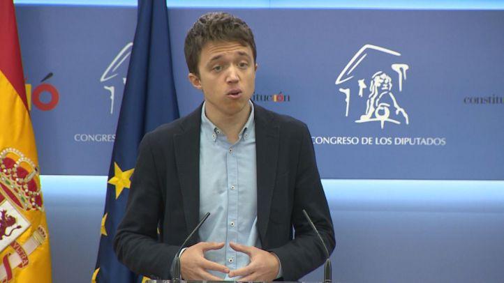 Íñigo Errejón, candidato a la Comunidad de Madrid por Más Madrid, comunica que deja su escaño en el Congreso.