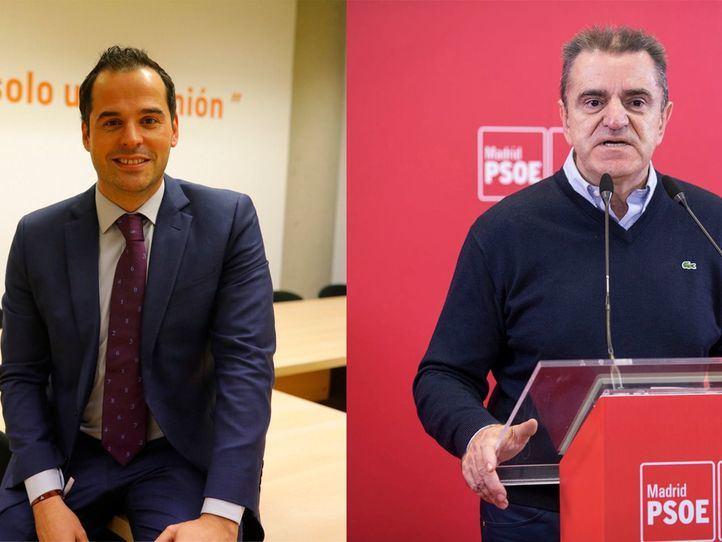 Aguado y Franco, en los micrófonos Onda Madrid