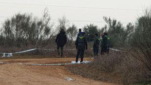 La Guardia Civil investiga en el móvil de la asesinada en Meco