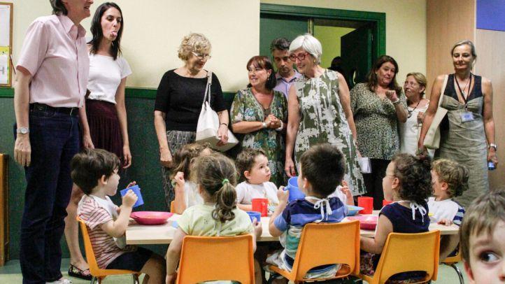 La lluvia retrasa la inauguración de nueve escuelas infantiles