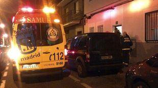 Una ambulancia del SAMUR.