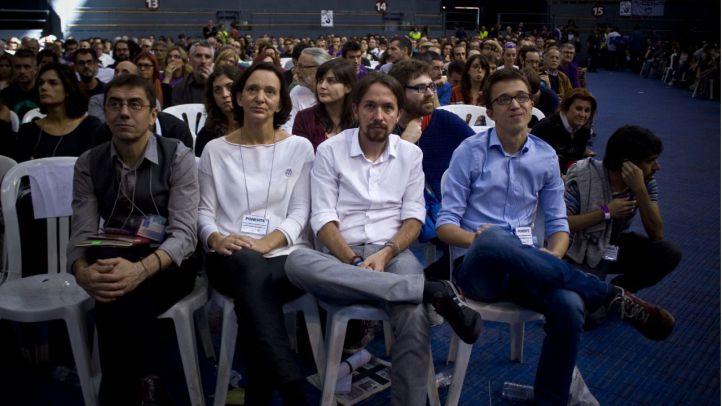 Bescansa, Iglesias y Errejón.