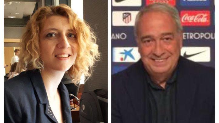 Nuria Platón (La Razón) y Luis Gómez (El País).