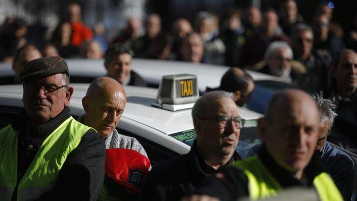 Los taxistas inician este viernes una huelga de hambre