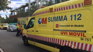 Una colisión deja cuatro heridos en San Martín de Valdeiglesias