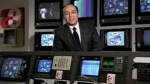Miguel Ángel Nieto aparecía en la pantalla en la primera emisión de Antena 3