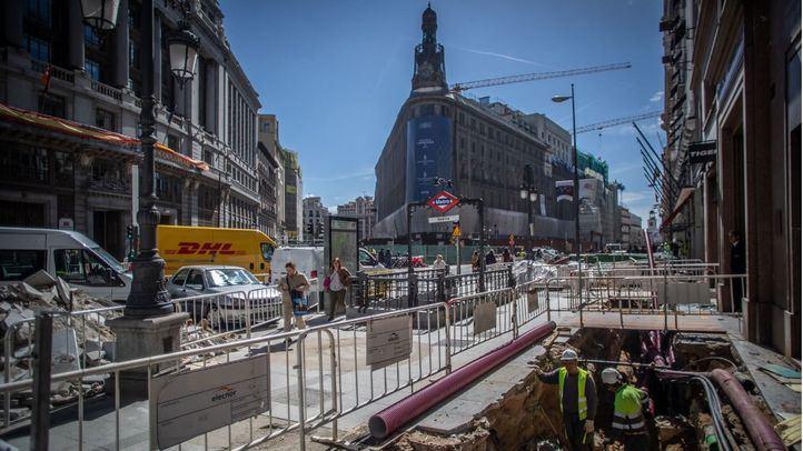 Algún problema en las obras del complejo Canalejas ha provocado el corte de Metro.