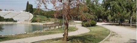 El Parque de las Cruces estrenará pista de hockey hierba nueva