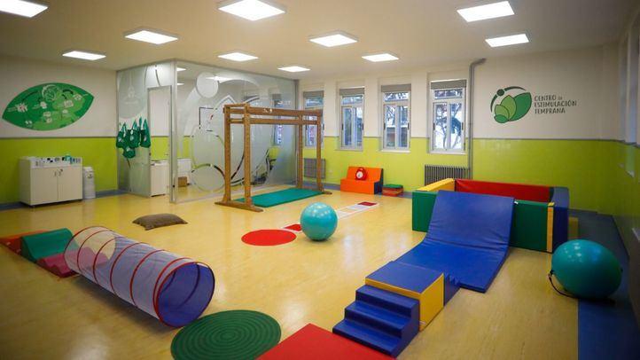 Centro de estimulación temprana en el colegio Corazón Inmaculado.