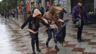 Madrid, entre las 36 provincias en aviso por mal tiempo